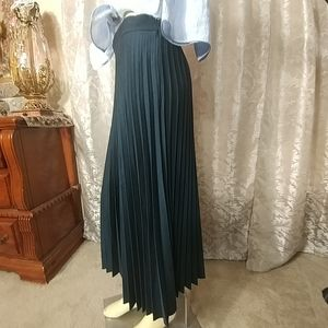 ZARA WOMAN Pleid Maxi Skirt NEW